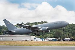 KC-46 Tanker VH002 Flight with General Goldfein