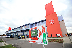 A general view of the KC Lightstream Stadium, home of Hull KR