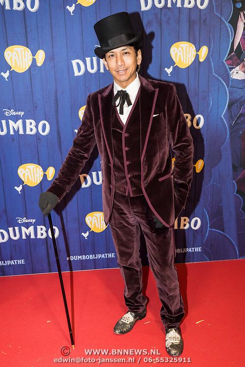 NLD/Amsterdams/20190326 - Filmpremiere Dumbo, Wibi Soerjadi