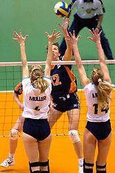 24-06-2000 JAP: OKT Volleybal 2000, Tokyo<br /> Nederland vs Argentinie 3-1 / Elles Leferink