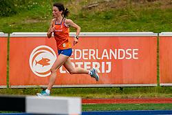 Irene van der Reijken in action during the Press presentation of the olympic team Athletics on July 8, 2021 in Papendal Arnhem