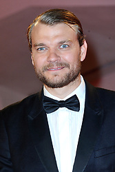 Pilou Asbaek attending the Woodshock Premiere during the 74th Venice International Film Festival (Mostra di Venezia) at the Lido, Venice, Italy on September 04, 2017. Photo by Aurore Marechal/ABACAPRESS.COM