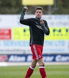 Aberdeen's scorer Ryan Christie at the end. St Johnstone 1 v 2 Aberdeen. SPFL Ladbrokes Premiership game played 15/4/2017 at St Johnstone's home ground, McDiarmid Park.