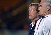Photo: Ashley Pickering.<br /> Norwich City v West Ham United. Pre Season Friendly. 31/07/2007.<br /> West Ham manager Alan Curbishley (L) and assistant manager Mervyn Day
