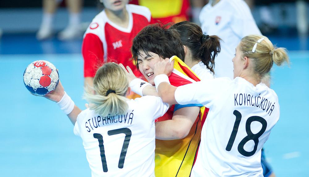 London Handball Cup - China vs Slovakia -Zhengwen Sha