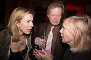 ROWAN PELLING; CHRISTOPHER SYLVESTER; SUE GREENHILL, The Literary Review Bad Sex in Fiction Award 2014. The In and Out ( Naval and Military ) Club, 4 St. James's Sq. London SW1. 3 December 2014.