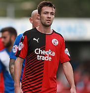Crawley Town midfielder Gwion Edwards during the Sky Bet League 2 match between Crawley Town and Leyton Orient at the Checkatrade.com Stadium, Crawley, England on 10 October 2015. Photo by Bennett Dean.