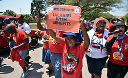 South Africa - Pretoria - 20 October 2020. Onderstepoort Biological Products employees protesting for better salaries.<br /> Picture: Oupa Mokoena/African News Agency (ANA)