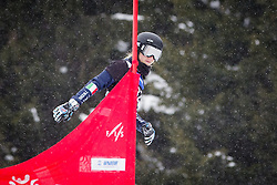 Elisa Profanter (ITA) competes during Qualification Run of Women's Parallel Giant Slalom at FIS Snowboard World Cup Rogla 2016, on January 23, 2016 in Course Jasa, Rogla, Slovenia. Photo by Ziga Zupan / Sportida