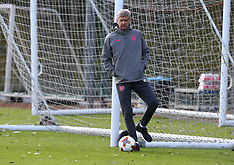 Arsenal Training and Press Conference - 13 September 2017