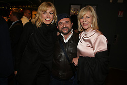 Julie Gayet, Jean-Louis Barcelona and Chantal Ladesou attending Orange Party held at Plage Majestic as part of the 72nd Cannes Film Festival, on May 18, 2019 in Cannes, France. Photo by Jerome Domine/ABACAPRESS.COM