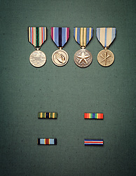 Military medals Military award medals. CONCEPT STOCK PHOTOS