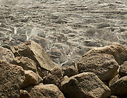 Detail of a glacier in the Karakoram.