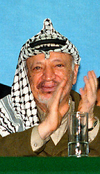 June 15, 2017 - Athens, Greece - Yasser Arafat chairman of the Palestine Liberation Organization (PLO) from 1969 to 2004 and President of the Palestinian National Authority (PNA) from 1994 to 2004.Ideologically an Arab nationalist, he was a founding member of the Fatah political party, which he led from 1959 until 2004. (Credit Image: © Eurokinissi via ZUMA Wire)