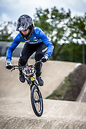 #182 (GARGAGLIA Giacomo) ITA during practice at Round 3 of the 2019 UCI BMX Supercross World Cup in Papendal, The Netherlands