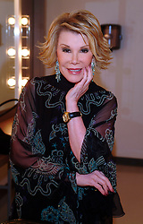 June 23, 2016 - Toronto, Ontario, Canada - 23 June 2016 - New York, NY, USA - Joan Rivers.  The Private Collection of Joan Rivers featuring the star's favorite items were auctioned in both online and live sales at Christie's New York.  File Photo: 17 September 2004 - Toronto, Ontario, Canada.  Joan Rivers backstage at ''Brian Linehan Remembered'' held at Winter Garden Theatre. Photo Credit: Brent Perniac/AdMedia (Credit Image: © Brent Perniac/AdMedia via ZUMA Wire)