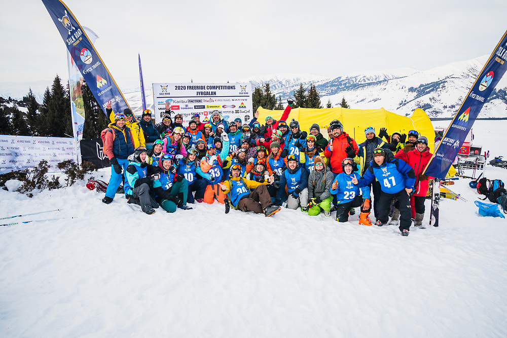 The 2020 family - Day 3 Silk Road Freeride Competition, Jyrgalan, KG.