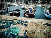 Fishing boats, Cinque Terre, Porto Venere, Liguria, Italy