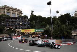 May 26, 2019 - Monte Carlo, Monaco - xa9; Photo4 / LaPresse.26/05/2019 Monte Carlo, Monaco.Sport .Grand Prix Formula One Monaco 2019.In the pic: Valtteri Bottas (FIN) Mercedes AMG F1 W10 and Pierre Gasly (FRA) Red Bull Racing RB15 (Credit Image: © Photo4/Lapresse via ZUMA Press)