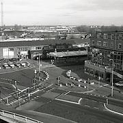 NLD/Huizen/19950102 - Graaf Wichman Huizen, politieburo Huizen en bejaardenhuis de Marke