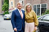 Koninklijk Paar reikt Groeicertificaten Oranje Fonds uit