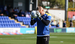 Anssi Jaakkola of Bristol Rovers warms up - Mandatory by-line: Arron Gent/JMP - 21/09/2019 - FOOTBALL - Cherry Red Records Stadium - Kingston upon Thames, England - AFC Wimbledon v Bristol Rovers - Sky Bet League One