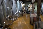 stainless steel tanks domaine g humbrecht dom g humbrecht pfaffenheim alsace france