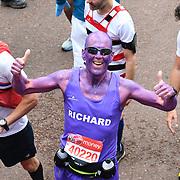 London, England, UK. 28 April 2019. Richard Bebbington finish the Virgin Money London