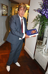 NICKY HASLAM at a party to celebrate the publication of 'How to Party' by Yasmin Mills with illustrations by Olympia Scarry, held at the Fifth Floor Restaurant, Harvey Nichols, Knightsbridge, London on 3rd July 2006.<br /><br />NON EXCLUSIVE - WORLD RIGHTS