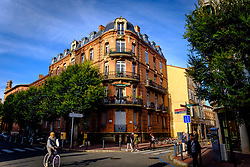 Traditional French atchitecture in Toulouse, France<br /> <br /> (c) Andrew Wilson | Edinburgh Elite media