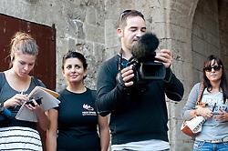 Polignano a Mare, 4 Ottobre 2011 .Apulia Audiovisual Workshop Puglia Experience.Apulia Film Commission