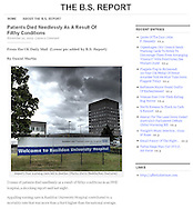 Basildon Hospital / The B.S Report / November 2009