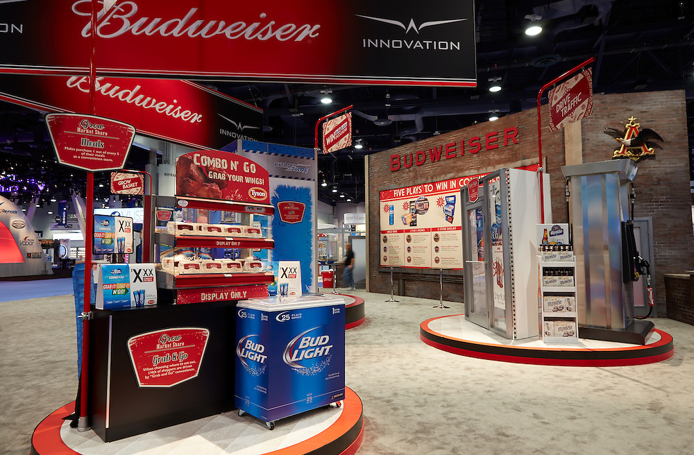ITC Budweiser booth .