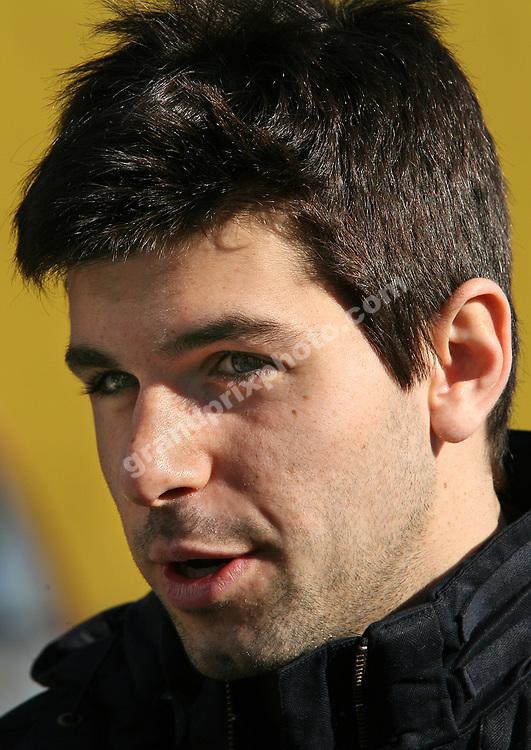 Jaime Alguersuari (Toro Rosso-Ferrari) during February 2010 Valencia testing. Photo: Grand Prix Photo