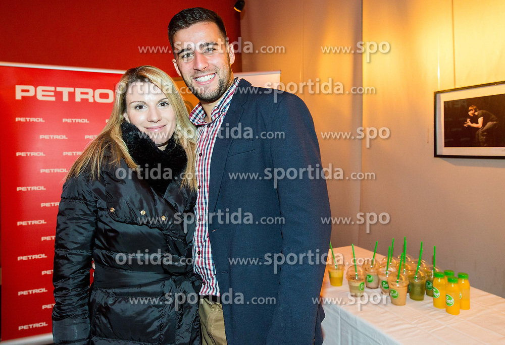 Tara Varl Milic and Aljaz Radinski during Slovenian Tennis personality of the year 2017 annual awards presented by Slovene Tennis Association Tenis Slovenija, on November 29, 2017 in Siti Teater, Ljubljana, Slovenia. Photo by Vid Ponikvar / Sportida
