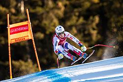18.12.2018, Saslong, St. Christina, ITA, FIS Weltcup Ski Alpin, Abfahrt, Damen, im Bild Romane Miradoli (FRA) // Romane Miradoli of France in action during her run in the ladie's Downhill of FIS ski alpine world cup at the Saslong in St. Christina, Italy on 2018/12/18. EXPA Pictures © 2018, PhotoCredit: EXPA/ Johann Groder
