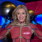 Nell McAndrew the first ever pop-up 'work-in gym', London, UK
