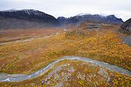 Kaitumjaure, Sarek National Park, Laponia Unesco World Heritage Site, Norrbotten, Lapland, Sweden