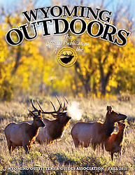 Cover of Wyoming Outdoors Magazine