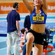 NLD/Apeldoorn/20180217 - NK Indoor Athletiek 2018, verspringen dames, Pauline Hondema