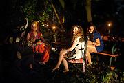 EINAT SHITENBERG; LEA FRANKO, 18th birthday party for Ruby Boglione. Petersham House. London. 4 September 2010. -DO NOT ARCHIVE-© Copyright Photograph by Dafydd Jones. 248 Clapham Rd. London SW9 0PZ. Tel 0207 820 0771. www.dafjones.com.
