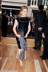 Catherine Deneuve at a party to celebrate the opening of the Louis Vuitton Bond Street Maison, New Bond Street, London on 25th May 2010.