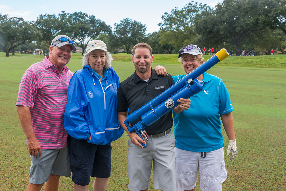 Houston Apartment Association hosted the 2018 Bill Dinerstein Golf Tournament on Monday, October 1, 2018, at the Sugar Creek Country Club. (Photograph by Mark Hiebert, HiebertStock.com)