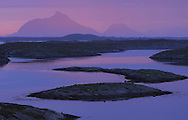 Lovund islands, Sleneset, Helgeland, Norway.