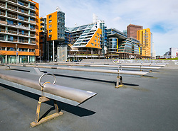 Modern office buildings at Potsdamer Platz in Berlin, Germany