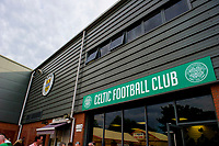 01/07/15 PRE-SEASON FRIENDLY MATCH<br /> CELTIC V DEN BOSCH<br /> ST MIRREN PARK - PAISLEY<br /> The St Mirren Park club store is branded with Celtic colours as the Parkhead side play there friendlies in Paisley.