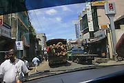 Stree scene, Sri Lanka