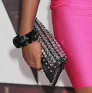 """WESTWOOD, CA - APRIL 28: Claudia Jordan arrives at the premiere of Universal Pictures' """"Bridesmaids"""" held at Mann Village Theatre on April 28, 2011 in Los Angeles, California."""