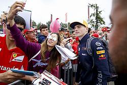 September 2, 2018 - Monza, Italy - Motorsports: FIA Formula One World Championship 2018, Grand Prix of Italy, ..#33 Max Verstappen (NLD, Aston Martin Red Bull Racing) (Credit Image: © Hoch Zwei via ZUMA Wire)