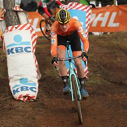 26-12-2019: Wielrennen: Wereldbeker veldrijden: Zolder <br /> Tim van Dijke reed naar een vijfde plek